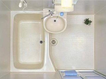 「お風呂と洗面台だけ一緒」のものは、2点ユニット