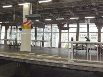 新潟駅に停まりました