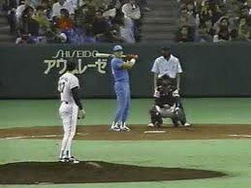 プロ野球の日本シリーズが、昼間だった