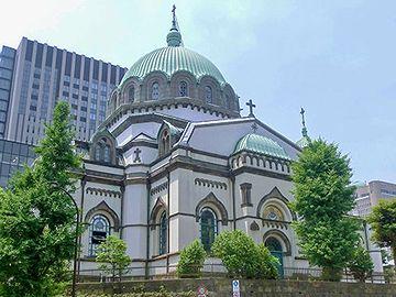 『ニコライ堂(日本最大の正教会の大聖堂)』