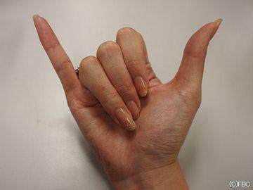 小指と親指じゃ、大違いじゃない