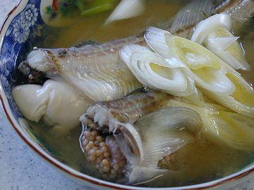 """これを調味料に使った鍋料理が、""""しょっつる鍋""""です"""