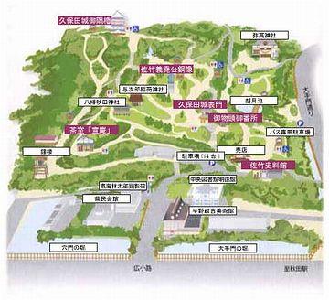 千秋公園の絵図
