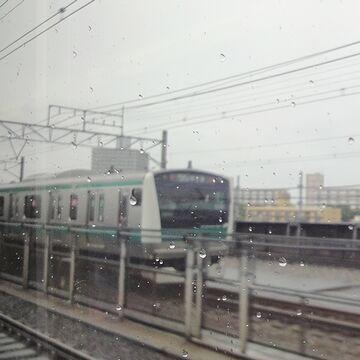 埼京線の車両が来ました
