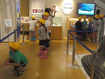 黄色い帽子の小学生