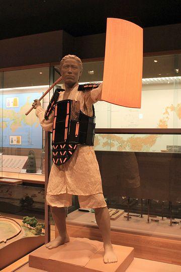 『国立歴史民俗博物館(千葉県佐倉市)』の展示。弥生時代です。