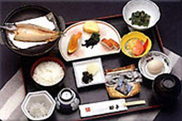 「国民宿舎 椰子」の朝食