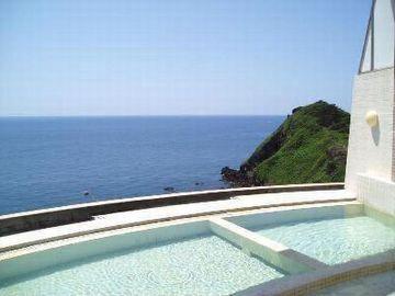日本海の眺めが、一望ですよ