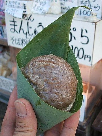 おまんじゅうの天ぷら