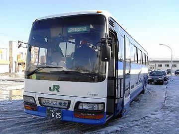大湊線の代行バス。こっちの方が、断然乗り心地良さそうです。