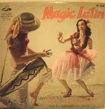 なぜか、とぼけたラテンミュージックでね