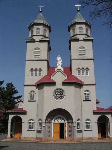 新潟カトリック教会・外観