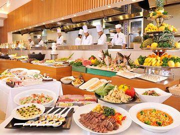 杉乃井ホテル・バイキングレストラン「Seeds」・料理