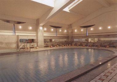 南紀の旅館「むさし」大浴場