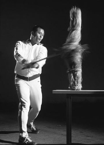 王貞治選手が、日本刀で素振りをしてたことは有名