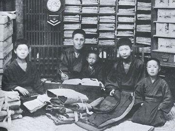 明治中頃の静岡の商家