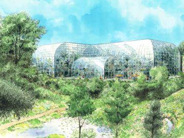 牧野植物園 新温室