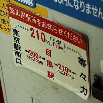 東京駅から等々力ってのも、けっこうな距離です。今度、乗ってみよう。