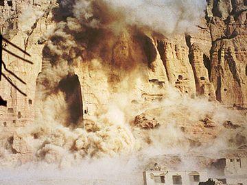 タリバンによる仏像破壊