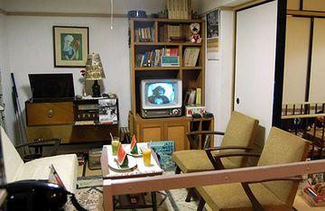 昭和37年当時の団地生活を再現した展示施設