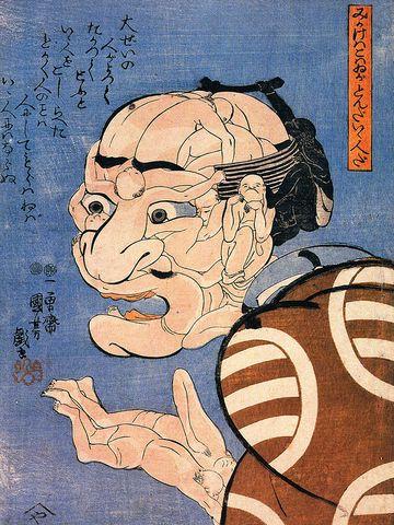 歌川国芳の『寄せ絵』