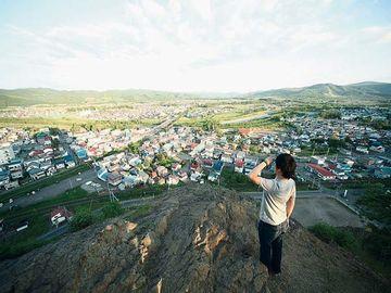遠軽町の『瞰望岩』