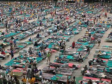 ハリケーン『カトリーナ』で被災した人々