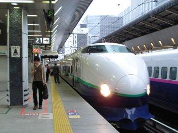東京発の始発は、6:08分の『とき301号』