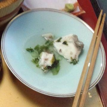 美野幸「石焼き定食」鯛の身