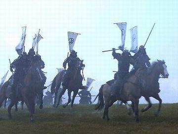 NHKの大河ドラマとかで、合戦のシーンがあるでしょ
