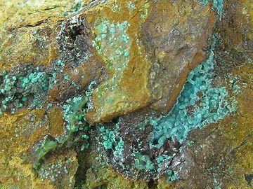 アロフェンって云う火山性の鉱物のせい