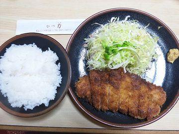 """『かつ力(新潟市中央区米山)』さんの""""とんかつ定食"""""""