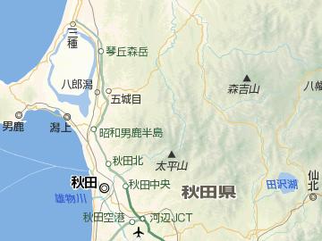 日本一の深さを誇る田沢湖