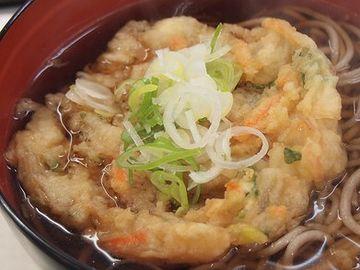 『八甲田』の天ぷら蕎麦