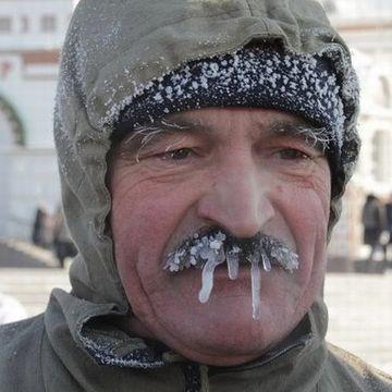 ロシアの冬。寒さ桁違い。