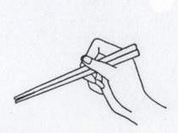 なんでお箸を、ぴったり揃えて持つの