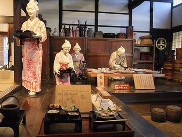 山形県酒田市にある史跡『旧鐙屋』
