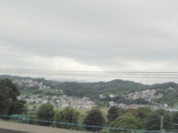 山の上に住宅地