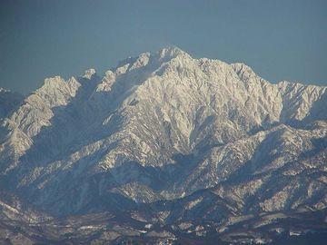 神の山・剱岳