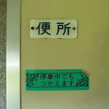 列車に揺られると、トイレが近くなりましてね