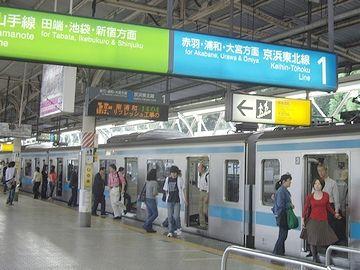 上野駅1,2番線