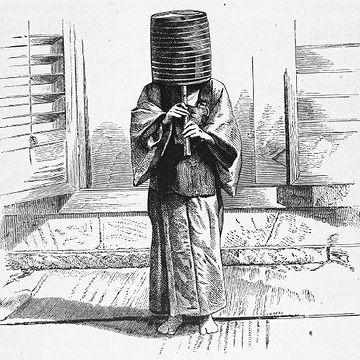 クラリネット奏者である日本の乞食