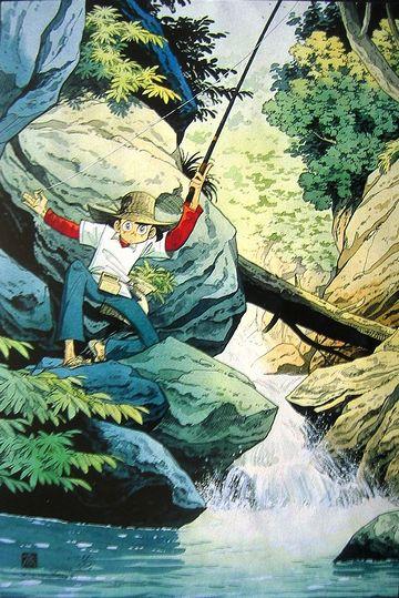 矢口高雄って、『釣り吉三平』の?