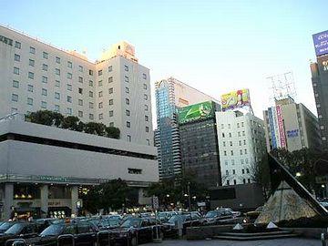 博多駅・筑紫口を出たあたり