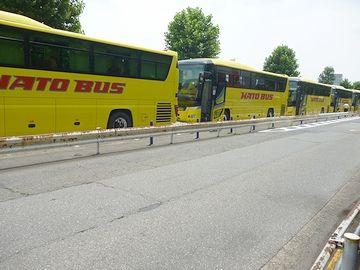 『はとバス』の列