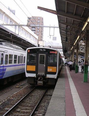 新潟駅に滑りこみました