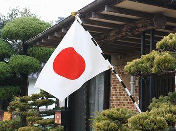 祝日に旗を出す家、ほぼ見なくなりましたよね