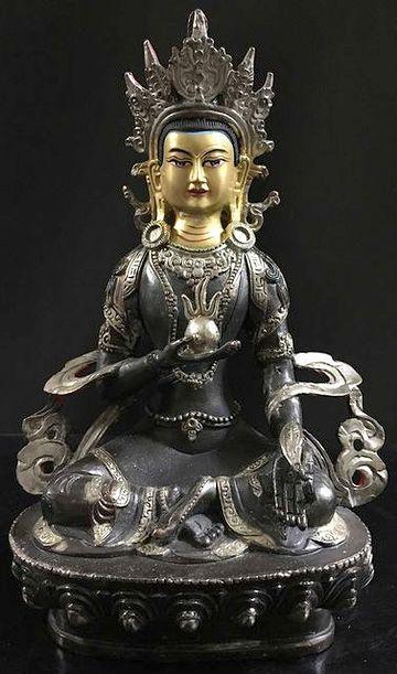 クシティガルバ像(チベット製)
