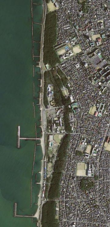 西海岸公園には、住宅街が隣接してる