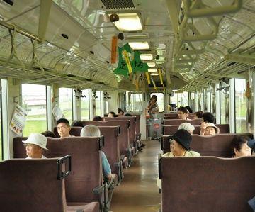 列車の中に、風鈴が吊るされるわけだな